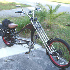 PedalChopper [60 volt] Spoiler [3 disc brakes / lithium batt. RR. Direct Dr.