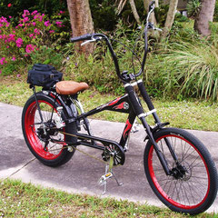 FIRST OF ITS KIND! 5 SPEED OCC SCHWINN WITH ELECTRIC REAR HUB...