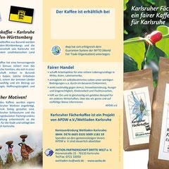 Folder Karlsruher Fächerkaffee