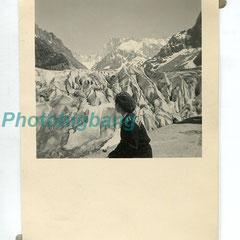20€ Mer de glace 1951/ 7x9,5cm
