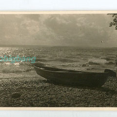 20€ La barque/ 6x8,5cm