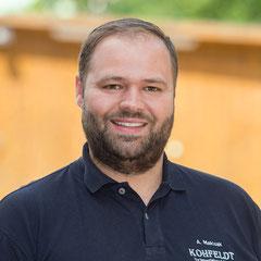 André Malczak, stellv. Geschäftsführer | Kohfeldt Gartengestaltung