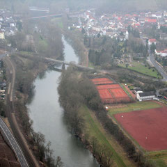 Blick auf Bad Münster