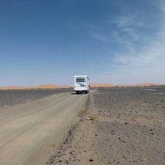 8.4. - Wir nähern uns der Sandwüste
