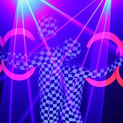 Lasershow in Hamburg - Fantômes de Flammes