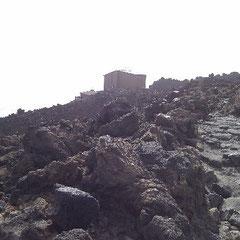 Seilbahn-Haus am Teide