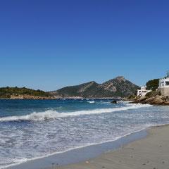 Blick von Sant Elm auf die Insel Dragonera