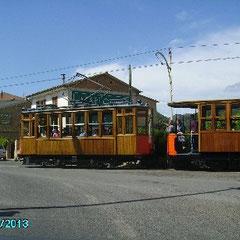 Orangenexpress (Straßenbahn) von Sóller nach Port de Sóller
