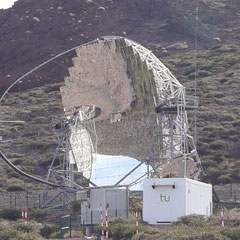 Teleskope für Gammastrahlung.