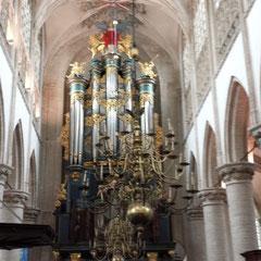 Die große Orgel in der Grote Kerk