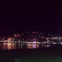 Palmira-Strand am Abend