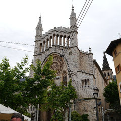 Sóller - Pfarrkirche Sant Bartomeu