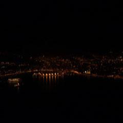 Blick auf Palma beim Rückflug