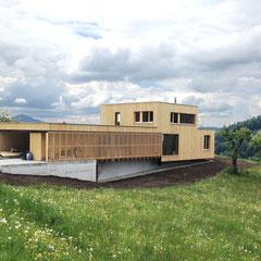 Einfamilienhaus mit Arztpraxis  ©2019 Welte Architektur