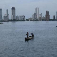 Skyline von Cartagena