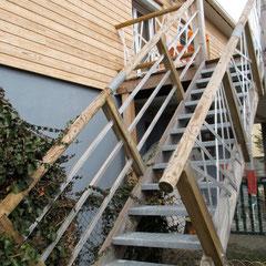 C-ARCHITECTURE - Balcon & escalier