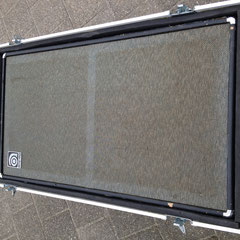 Ampet early seventies 8x10, flightcased