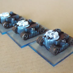 Empire of the Blazing Sun Chi Ri Class Medium Tanks
