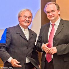Begrüßung durch Ministerpräsident Dr. Reiner Haseloff