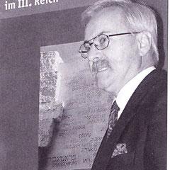Eröffnung der neu konzipierten Ausstellung am 10.11.2003 im Wittenberger Rathaus