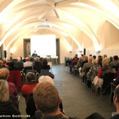 Refektorium des Lutherhauses zur Buchvorstellung am 16.3.2012