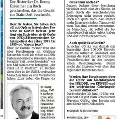 Sächsische Zeitung, 19.5.2011