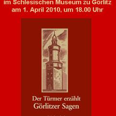 Buchvorstellung am 1.4.2010 im Schlesischen Museum zu Görlitz