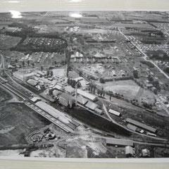 昭和35年大型更新工事後の航空写真