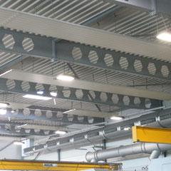 Erstmontage LED-Tiefenstrahler Montagehöhe 8m