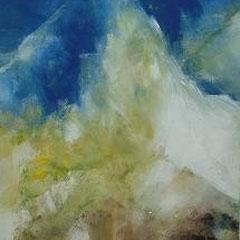 Berg, Acryl, 50x60, 2009
