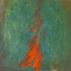Fire, Acryl, 30x30, 2009