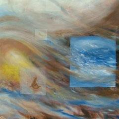 Ohnmacht, Acryl, 70x80, 2007