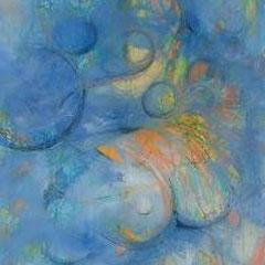 Titties and Beer, Acryl und Mischtechnik, 50x60, 2007