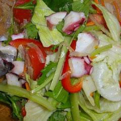 タコグリーンサラダ