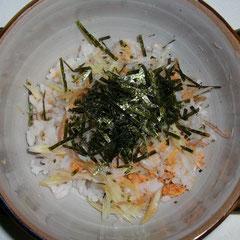 鮭・生姜ちらし  昼