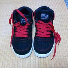 昨日買った靴  赤い彗星!!