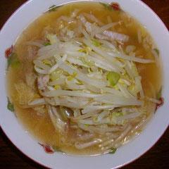 野菜ラーメン(母ちゃん用)  昼