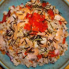ちらし寿司  昼