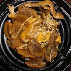 芋がらと干し大根の煮物(母作)
