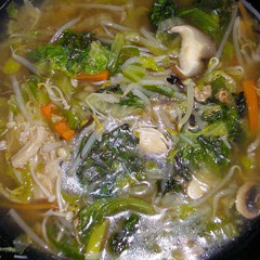 タンメンスープ  昼