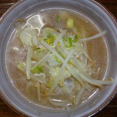 野菜スープ(おいら用)  昼