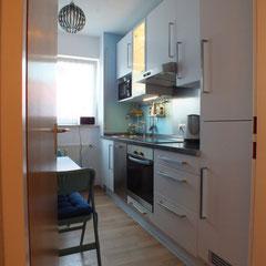View on kitchenette