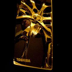 USB-Sick 24 Karat vergoldet Hochglanz - Spiegel No. 2