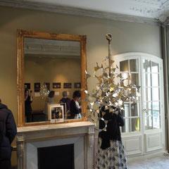 Lichtobjekt für Amélie Riech (uncommon matters) Bild: Ausstellung in Paris