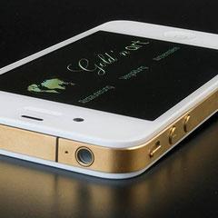 iPhone 4/4S 24 Karat vergoldet