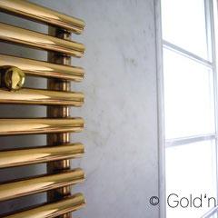 VASCO Heizkörper 24 Karat vergolden