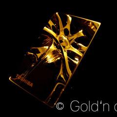 USB-Sick 24 Karat vergoldet Hochglanz - Spiegel