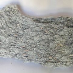 #396 Dicke DICKE Socken hellgrau + bisschen rosa. 4 Fäden. Grösse 39/40. Polyester, Wolle, Viskose     38,-€