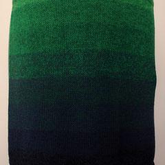"#500 Rock ""Polarlicht"" Farbverlauf. Umfang 82 cm, Länge 39 cm. 50% Baumwolle, 50% Polyacryl     145,-€"