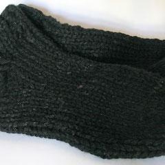 #404 Dicke DICKE Socken schwarz, 5 Fäden. Grösse38/39. Polyacryl, Wolle, Baumwolle, Viskose     38,-€